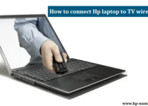 Connect Hp laptop to TV